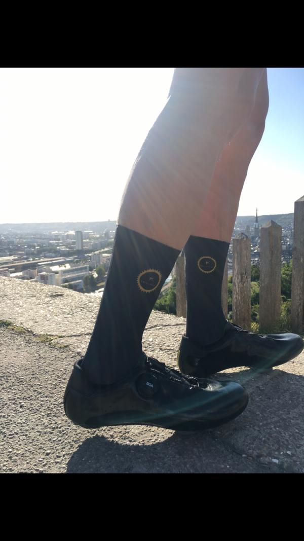 chaussettes aero noires